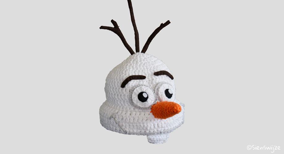 Gehaakte babymuts Olaf
